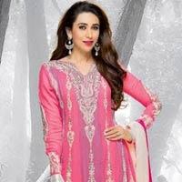 Fuchsia Designer Ethnic Look Salwar Suit