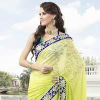 Royal Look Indian Designer Bollywood Saree