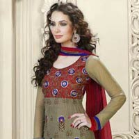 Party Wear Bollywood Anarkali Style Churidar Kameez