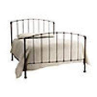 Evanston King Iron Bed