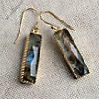 Gaia Labradorite Earrings