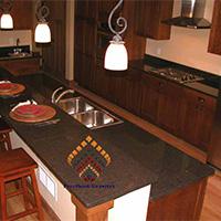 Coffee Brown Antique Granite Slabs