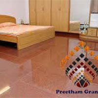 Red Multi Flooring Tiles