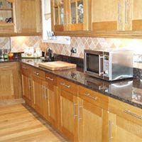 Tan Brown Kitchen Tiles