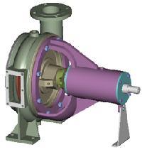 Horizontal Non Clog Centrifugal Pump