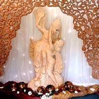 Wedding Foyer Statues