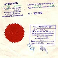General Administration Department Attestation Services