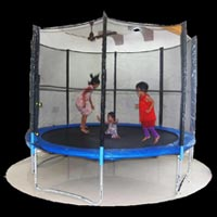 Trampoline with Net