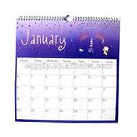 New Printing Wall Calendar