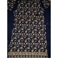 Chikan Embroidered Unstitch Dress Materials