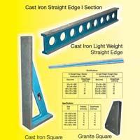 Cast Iron Straight Edge