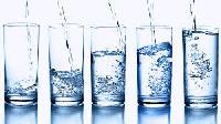 drinking water glasses