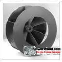 Shrouded Radial Blade Blower Wheels