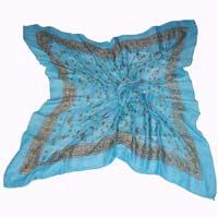 Cotton Printed Square Wool Shawls