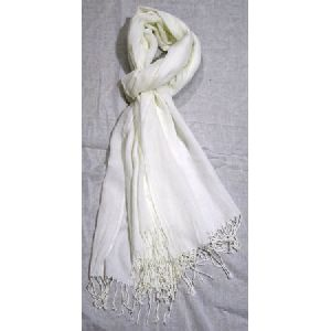 Modal Diamond Weave Pashmina Shawls With Fringes