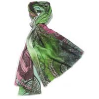 Wool Digital Printed Shawls