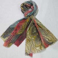 Wool Modal Printed Shawls