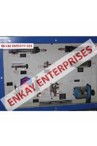 Transparent Hydraulic Component