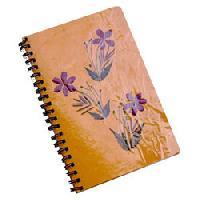 Colored Handmade Paper Diaries