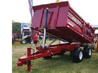 industrial hydraulic dump trailer