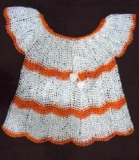 Crochet Lace Baby Dress