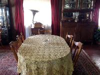 Crochet Lace Oval Table Cloth