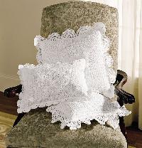 Crochet Lace Pillow Covers