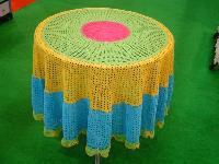 Crochet Round  Table Cloth