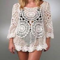 Crochet Womens Tops