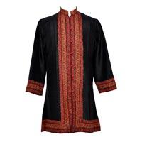 Ladies Handmade Silk Long Coats