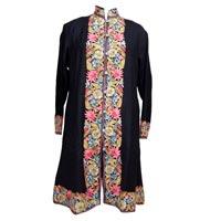 Ladies Machine Made Woolen Long Coats