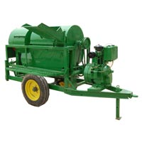 Engine Driven Paddy Cum Multicrop Thresher