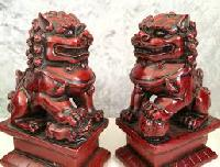 Rosewood Statues