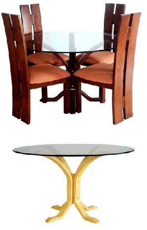 Bentwood Dining Table Set