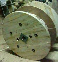 Wooden Cable Drum-02