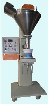 Semi Automatic Distemper Paste Filling Machine