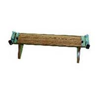Wooden Bench for Stand Wire