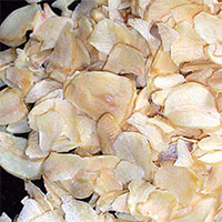 Dehydrated Garlic Chopped