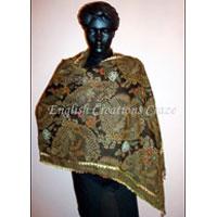 Wool Embroidery Shawls - Ec-2580 Dm