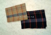 Wool melange heavy quality stripes STOLES