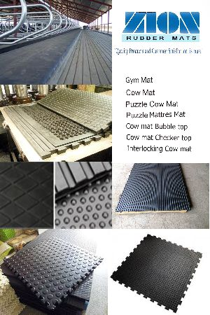 Cow Mats - Manufacturers, Suppliers & Exporters in India