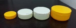PP Flat Cream Jars