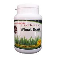 Sadhyam Organics Wheatgrass Tablets