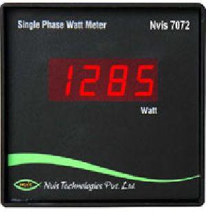 Single Phase Watt Meter