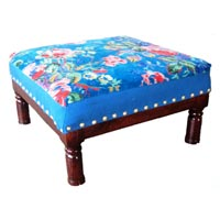 Wooden Low Stool