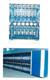 Double Deck Cotton TFO Machine