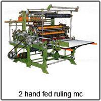 disk ruling machine