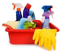 Housekeeping Cleaning Materials