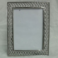 Mirror Look Photo Frame