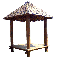 Gazebo - Coconut Wood